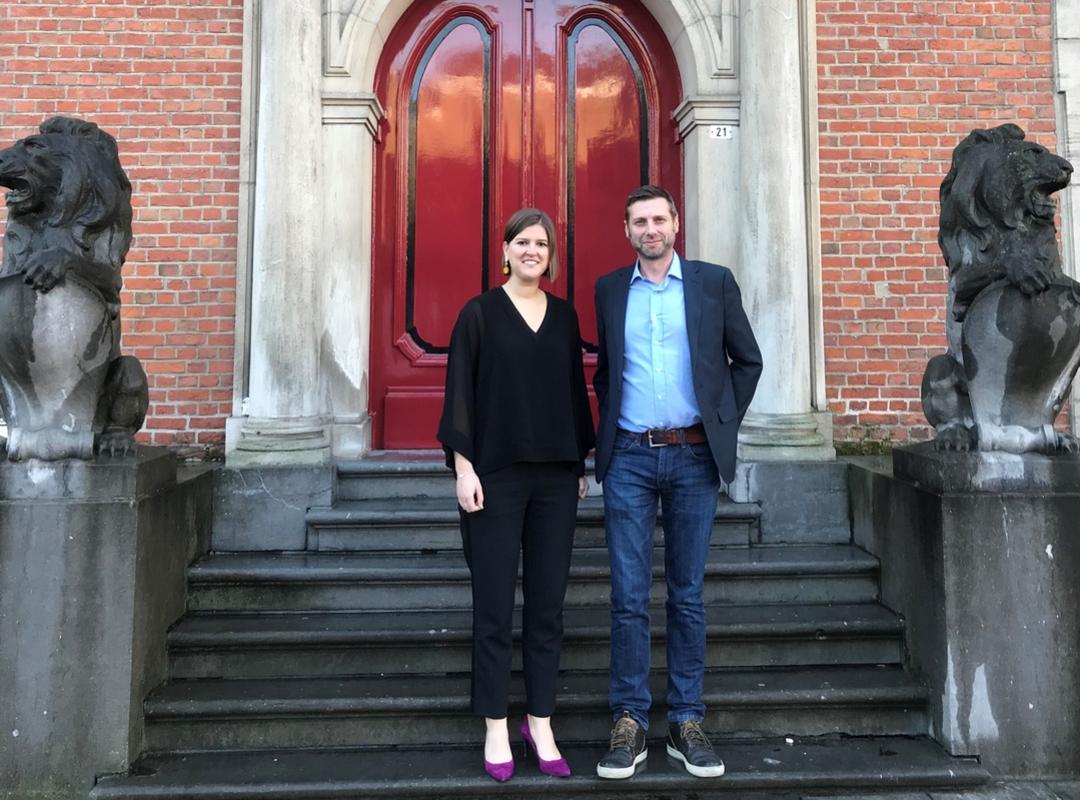 Sofie Joosen en Ivan Blauwhoff